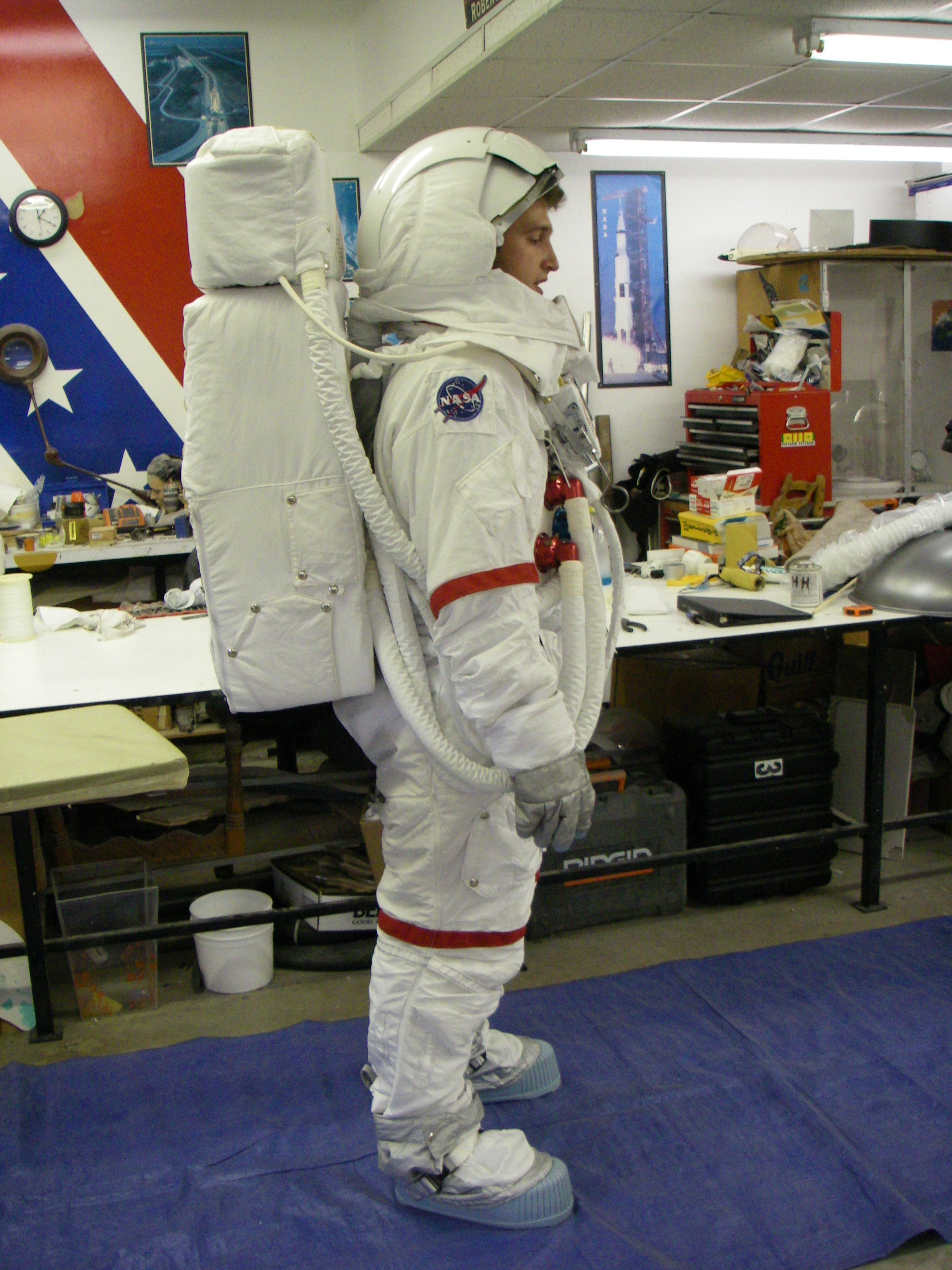 an interactive spacesuit experience nasa - HD2304×3072